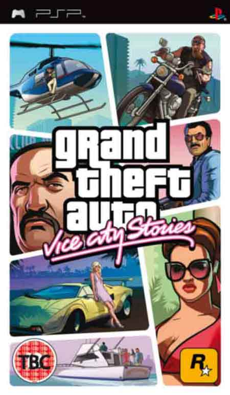 Psp game grand theft auto vice city stories u