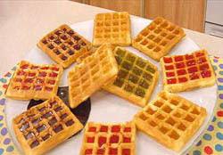 Receita de Waffles