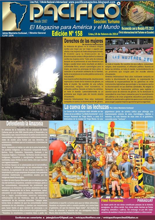 Revista Pacífico Nº 158 Turismo