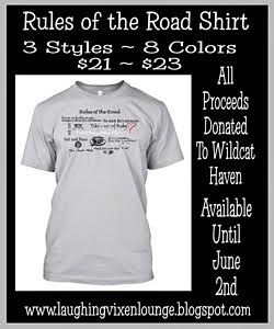 Rules of the Road ~ Limited SPN Inspired T-Shirt ~ All Proceeds To WildCat Haven