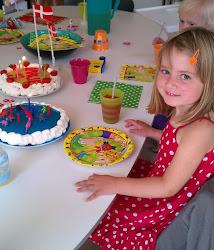 Søde Amalie 5 år