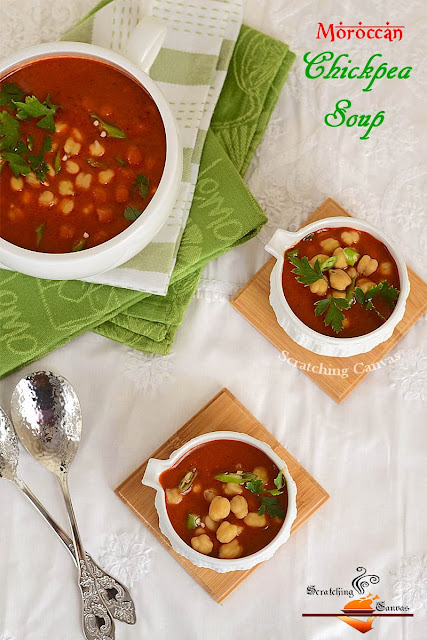 Vegan Chickpea Soup