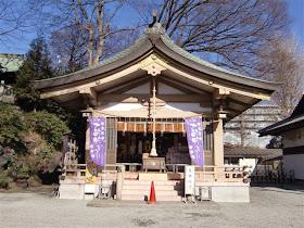 藤沢:白旗神社毘沙門堂