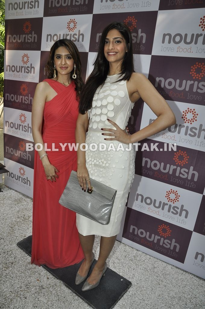 Pooja Makhija's Nourish launch1 - Vidya Balan Sonam Kapoor and Raveena at Pooja Makhija's Nourish launch