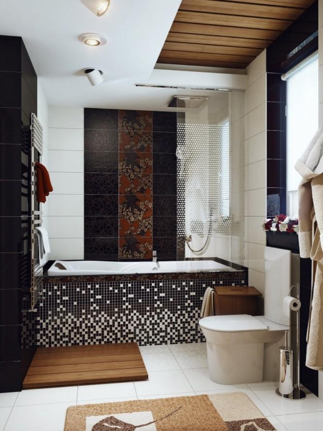 احدث ديكورات حمامات 2014 لعشاق الفخامة - نور الدنيا