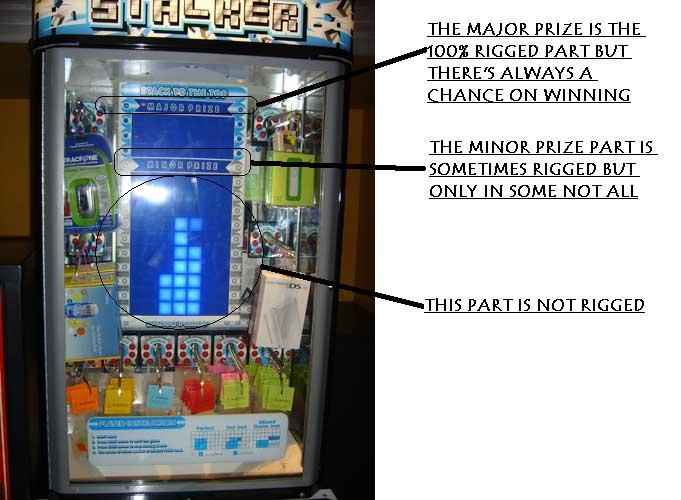Arcade games win prizes