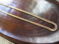 G010:中古 喜平2面 K18 30.1g ネックレス 50cm