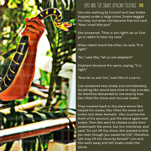 Oko and the Snake African Folktale