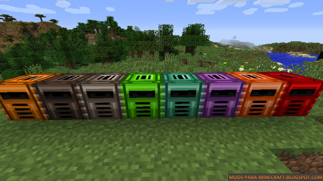 Smelter - Metallurgy Classic Machines Mod para Minecraft 1.7.10