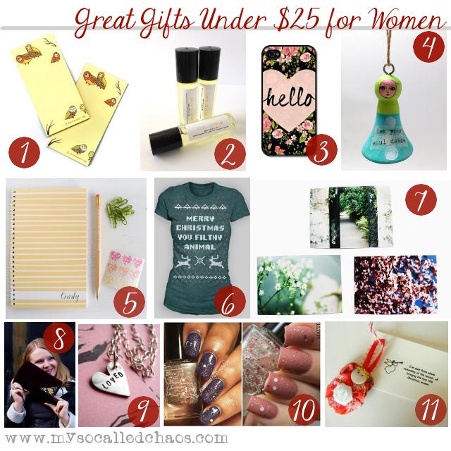 Christmas gift ideas for men under $25