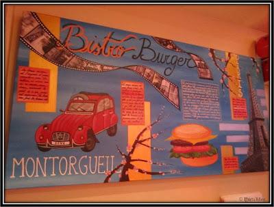 Bistro burger Paris Montorgueil - Uzes