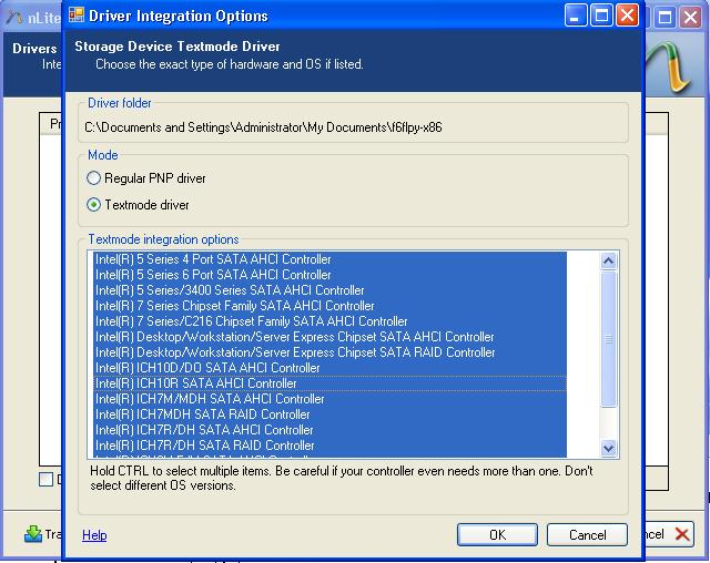 Windows С Интегрированным Драйвером Sata
