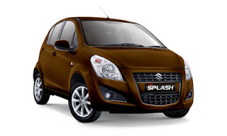 Suzuki New Splash Cokelat