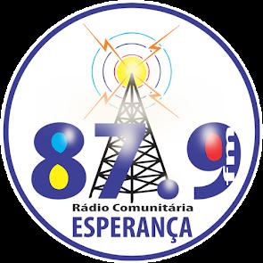 RÁDIO COMUNITÁRIA ESPERANÇA 87.9 FM ZYR 810 ÁGUA NOVA - RN