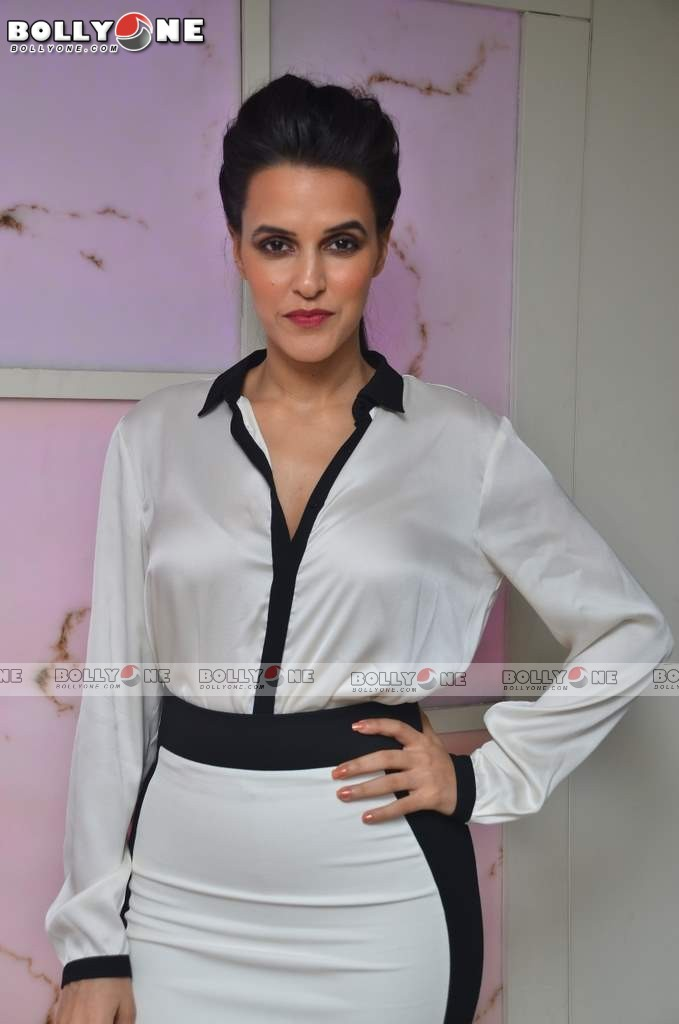 Neha Dhupia in white dress - Neha Dhupia at Secution 2012