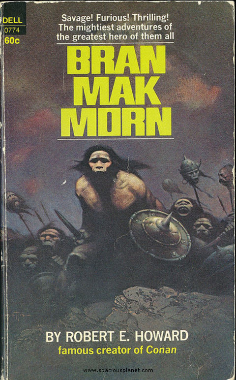 awesome classic sci-fi book cover Robert E. Howard Bran Mak Morn