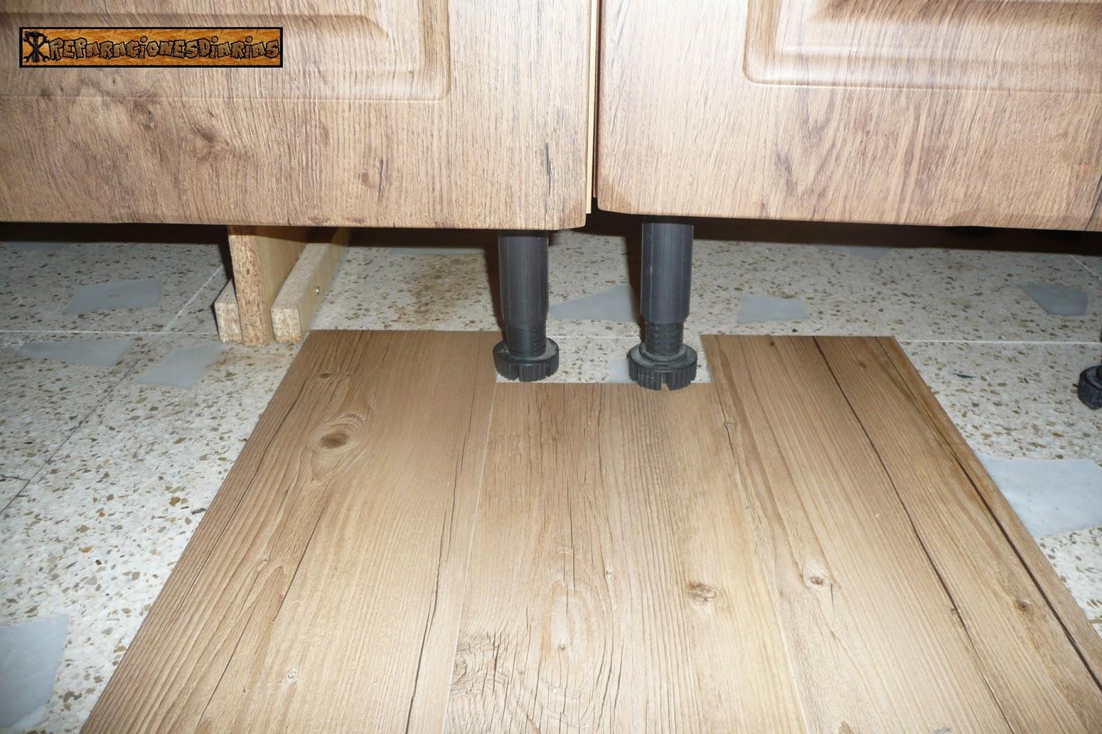 Vinilos para suelos de cocina great suelo vinilo cocina - Vinilos suelo cocina ...