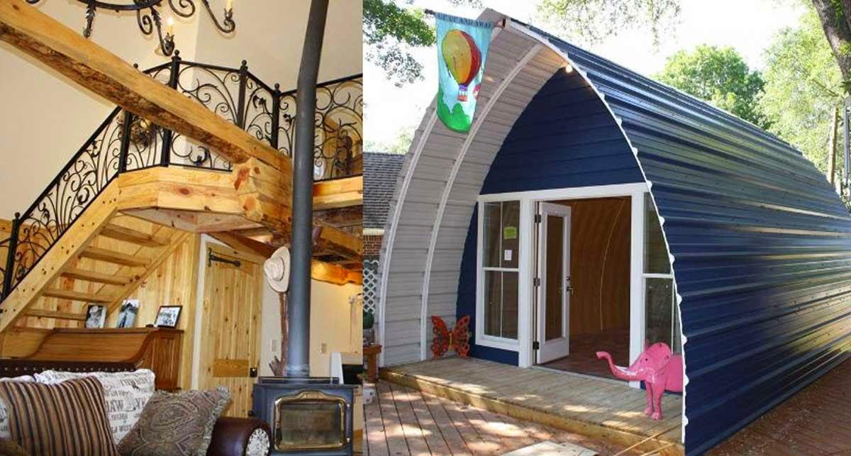 Asombrosas cabañas esconden un increíble interior   casas ideas