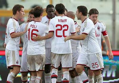 Xem lại đầy đủ trận Catania vs AC Milan
