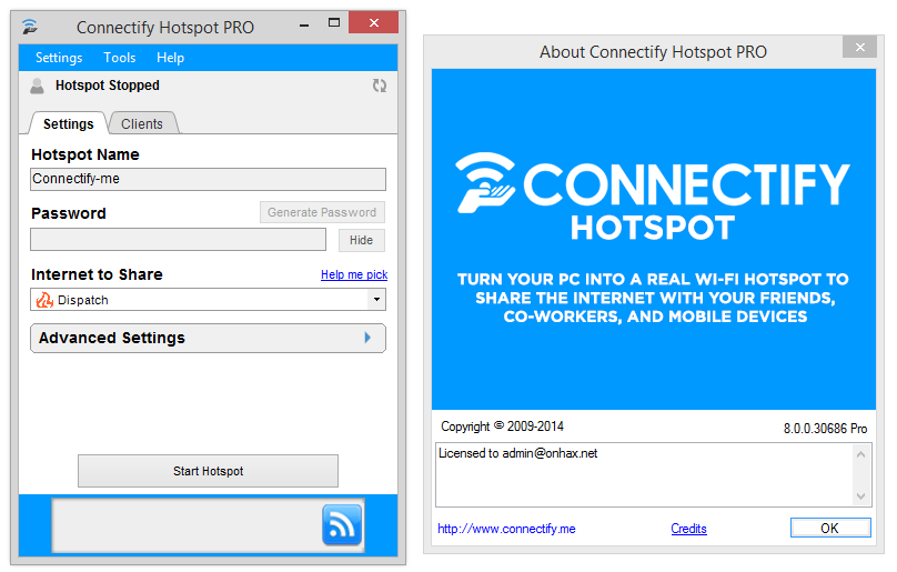 How to Use Connectify Hotspot