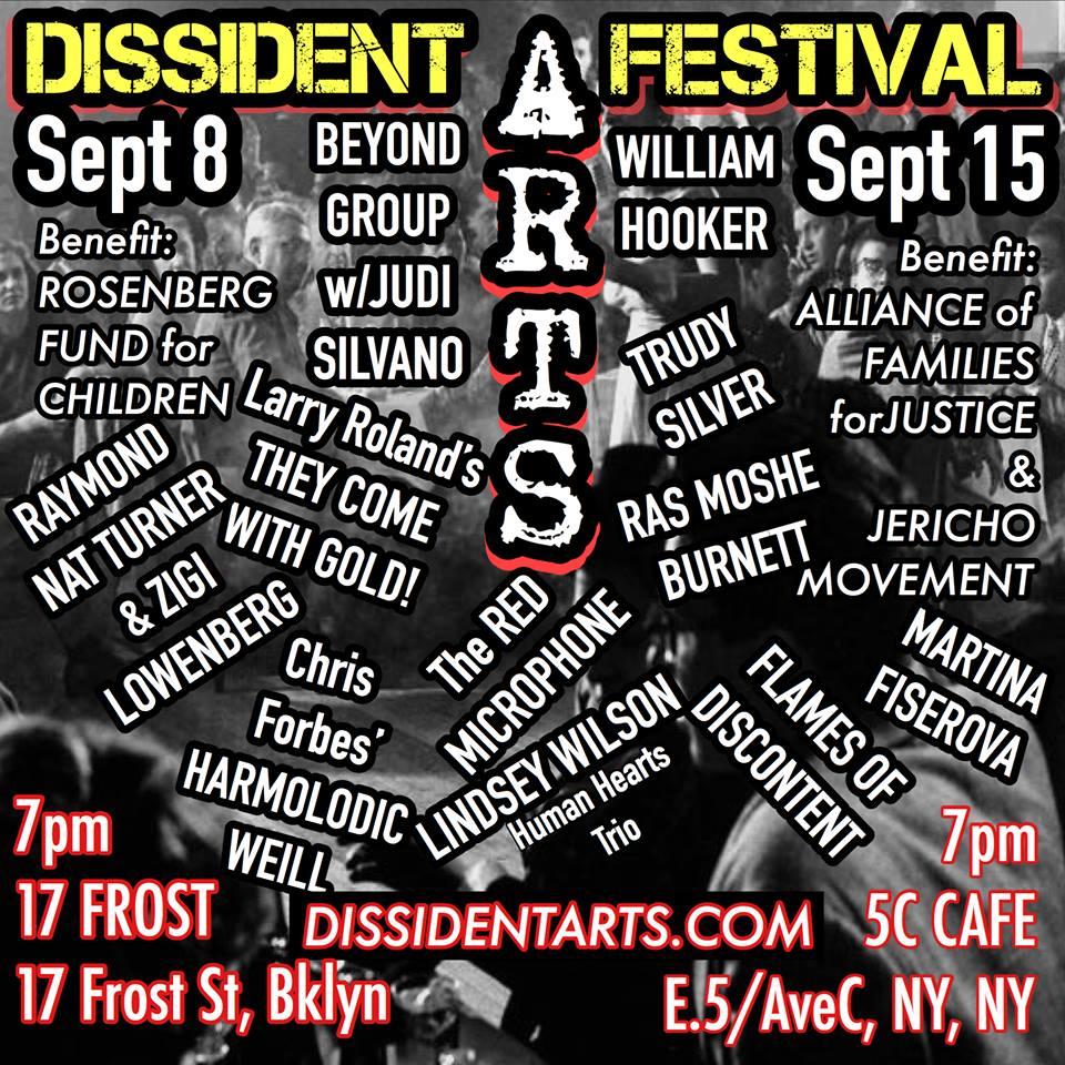 Dissident Arts 2018