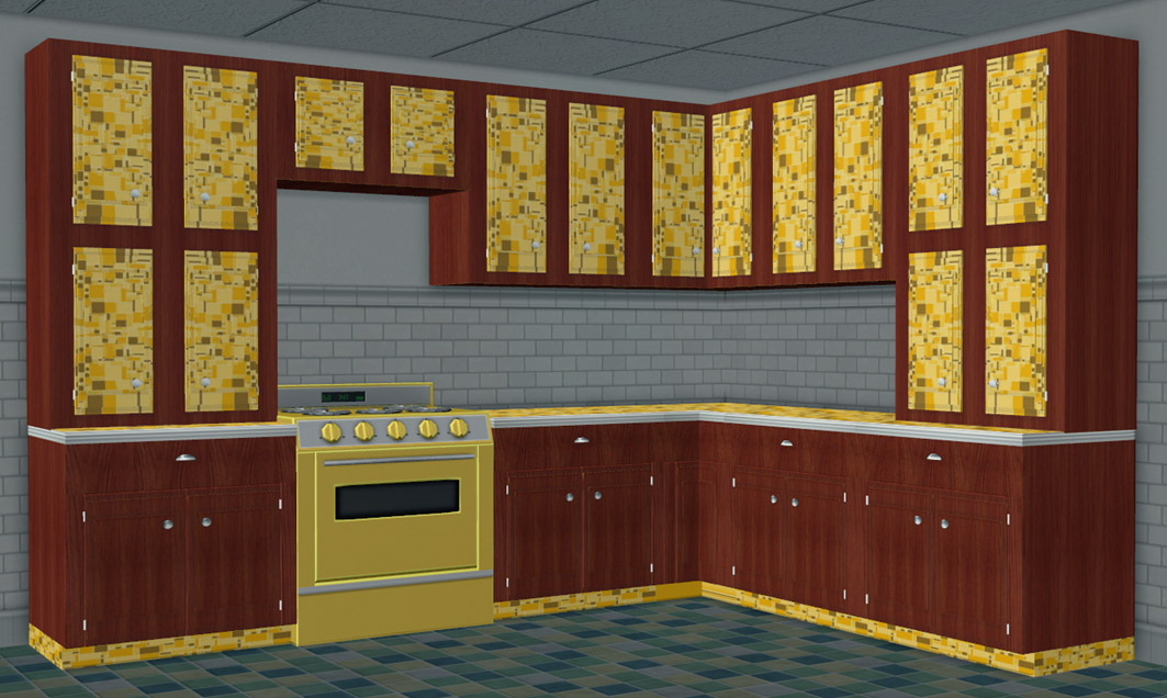 Moar Stuff For & About The Sims: Retro Kitchen Add-ons ~ 2 More ...