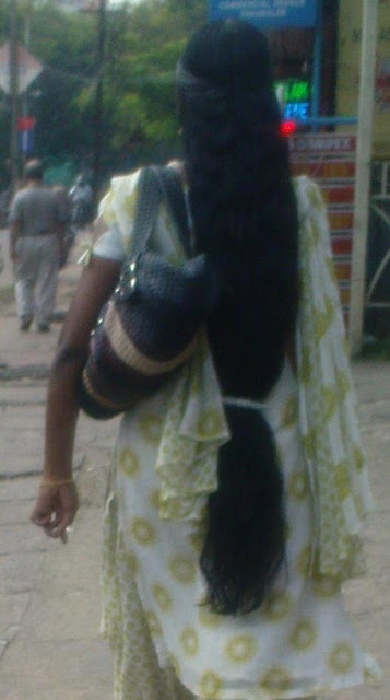 The famous hair style by kerala women is this.