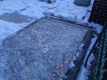 Chuck and Lori's Travel Blog - Benjamin Franklin's Grave
