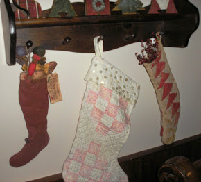 . . . AND THE STOCKING WERE HUNG