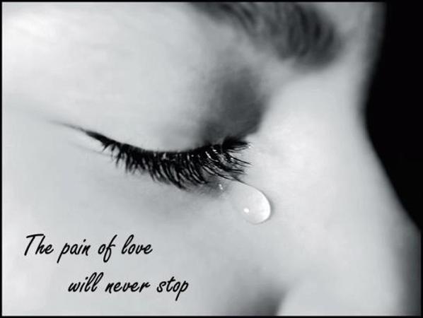 Hình ảnh cô gái khóc khi chia tay. Hình ảnh cô gái buồn vời vợi vì tình yêu