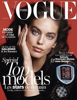 Magazine Cover : Emily DiDonato Magazine Photoshoot Pics on Vogue Magazine Paris Fevereiro 2014 Issue