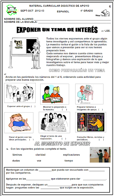 Maestros S.A.: MATERIAL DIDÁCTICO DE APOYO 12-13 Bim_1 CHIHUAHUA