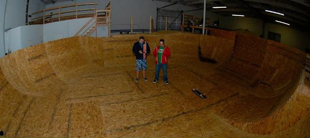 Michael Hess, The Skate Warehouse, Skateparks, Unit B