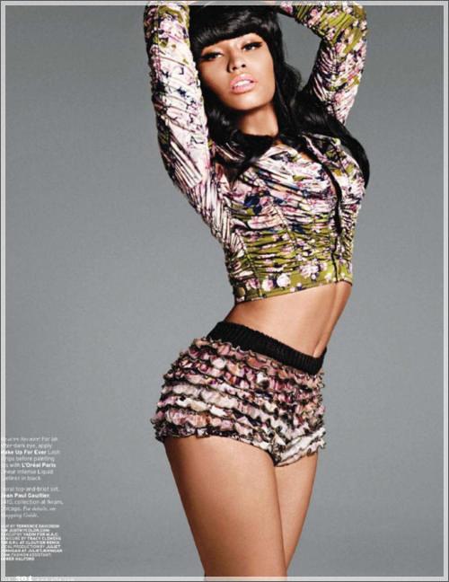 Nicki Minaj V Cover Shoot. nicki minaj vibe photoshoot.