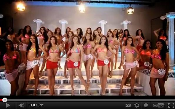 Bb Pilipinas 2012 Coronation Night (Swimwear Scenes) April 15, 2012