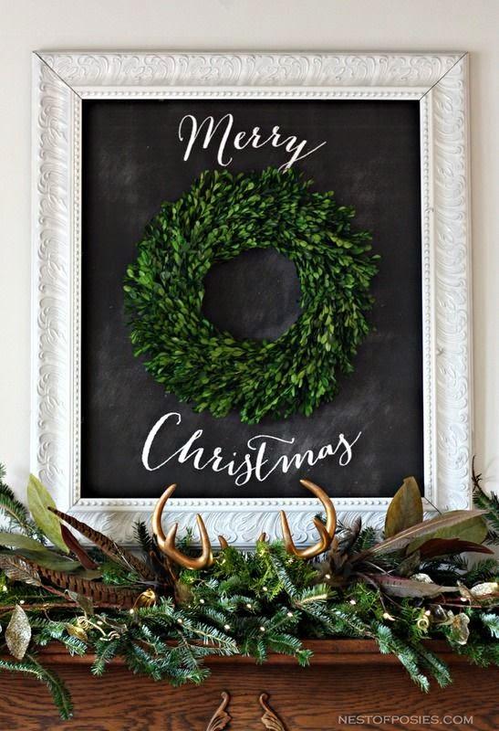 http://www.nestofposies-blog.com/2013/12/christmas-mantel/