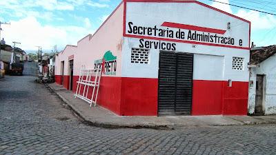 PREFEITURA DE BARRO PRETO RECUPERA ALMOXERIFADO