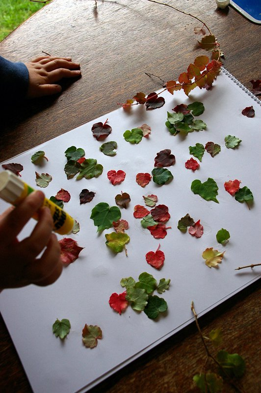 Easy Craft Ideas For Home Decor Part - 25: DIY Autumn Home Decor Craft Ideas Using Leaves | Fun Times Guide To .