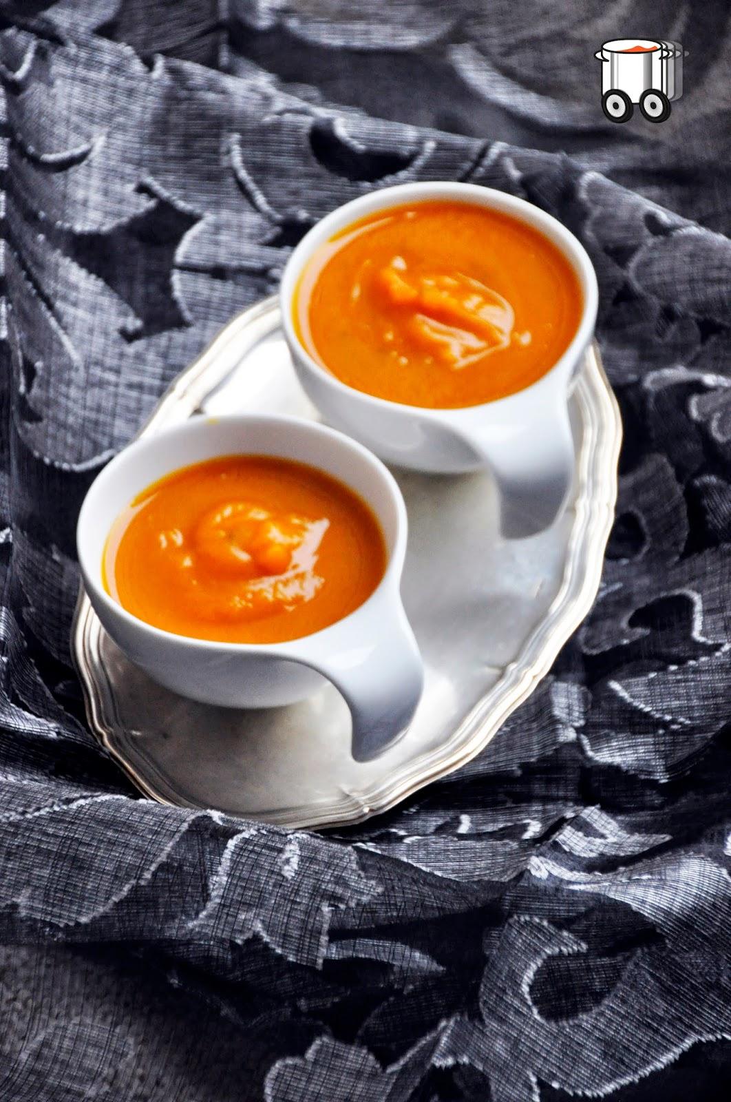 Szybko Tanio Smacznie - Kremowa zupa z dyni maślanej
