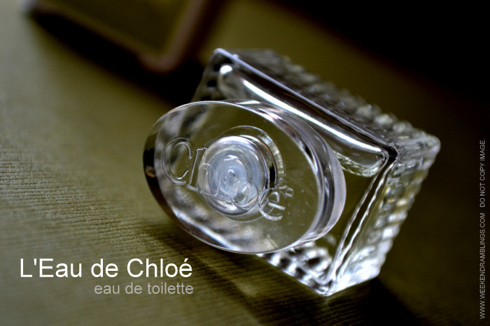 L'Eau de Chloé Eau de Toilette Spray Review EDT Designer Summer Fragrances for Women Perfumes Blog Reviews Ingredients