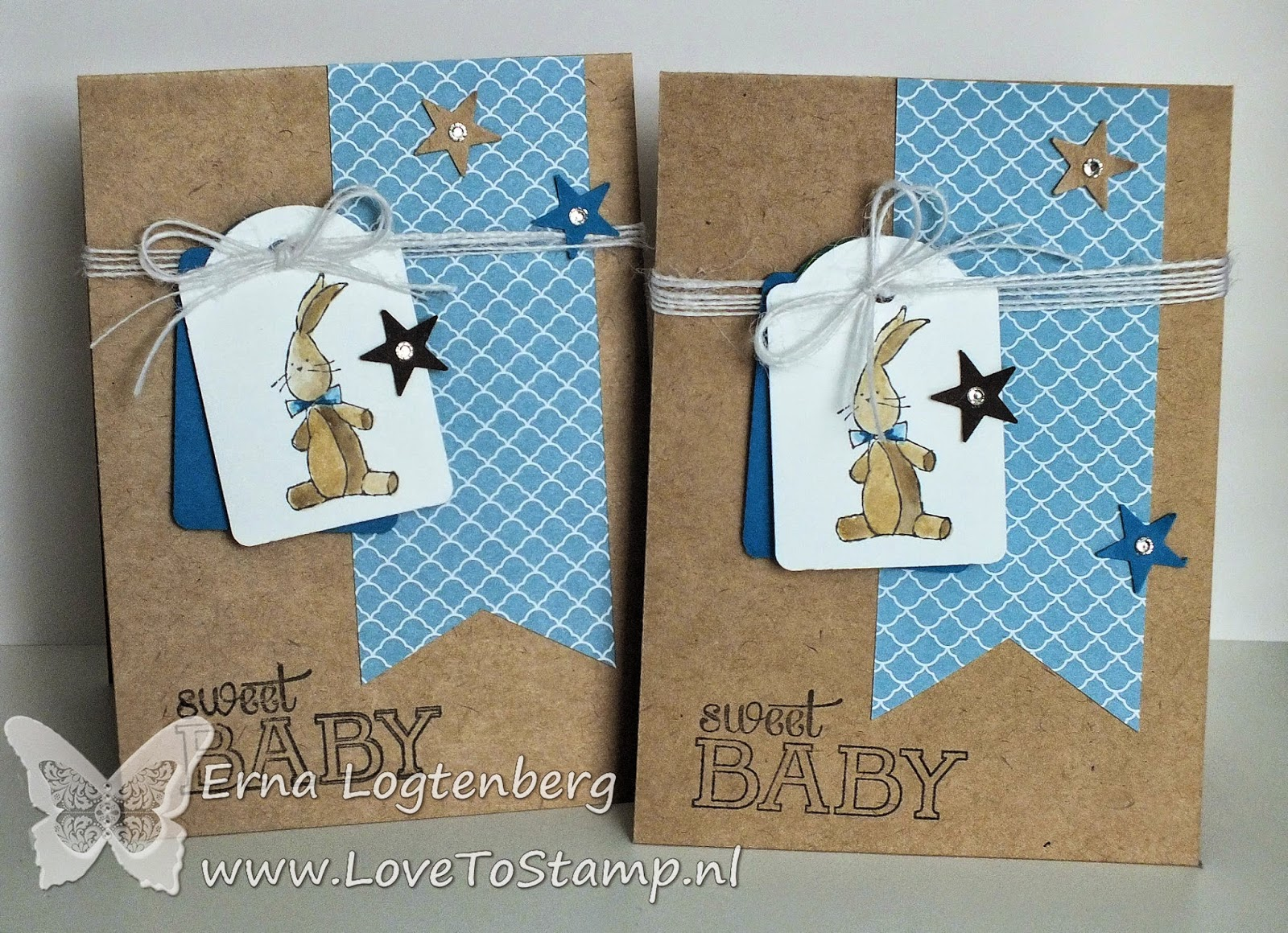 stampinup tag punch Baby we've grown