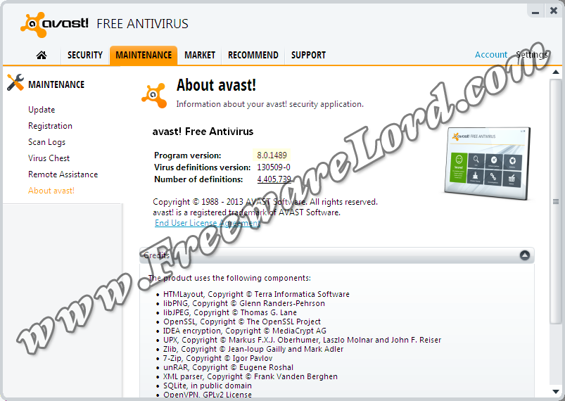 Latest Avast Free Antivirus 8 Final Standalone Offline Installer