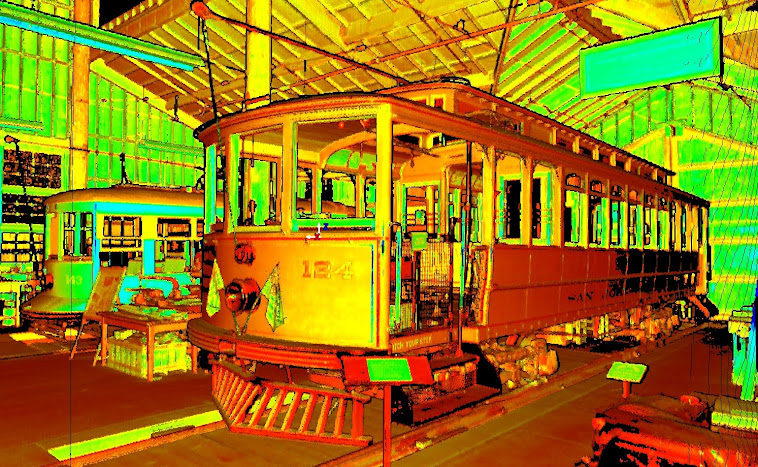 Laser Scan of Trolley #124