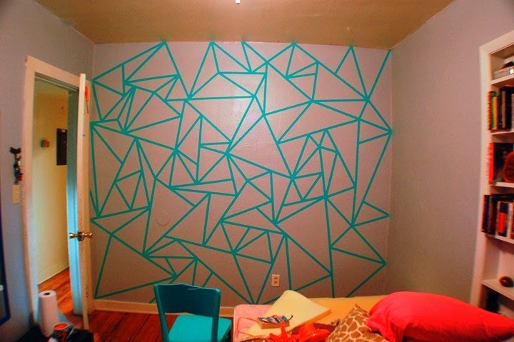Wall painting designs patterns Painting geometric patterns on walls