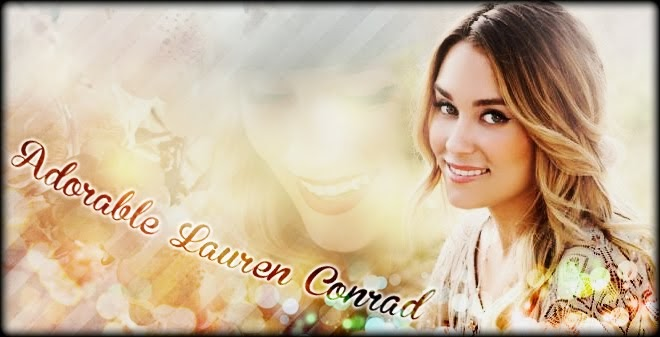 Adorable Lauren Conrad
