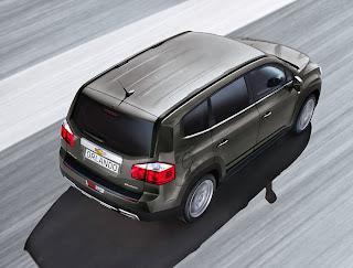Orlando MPV de la Chevrolet