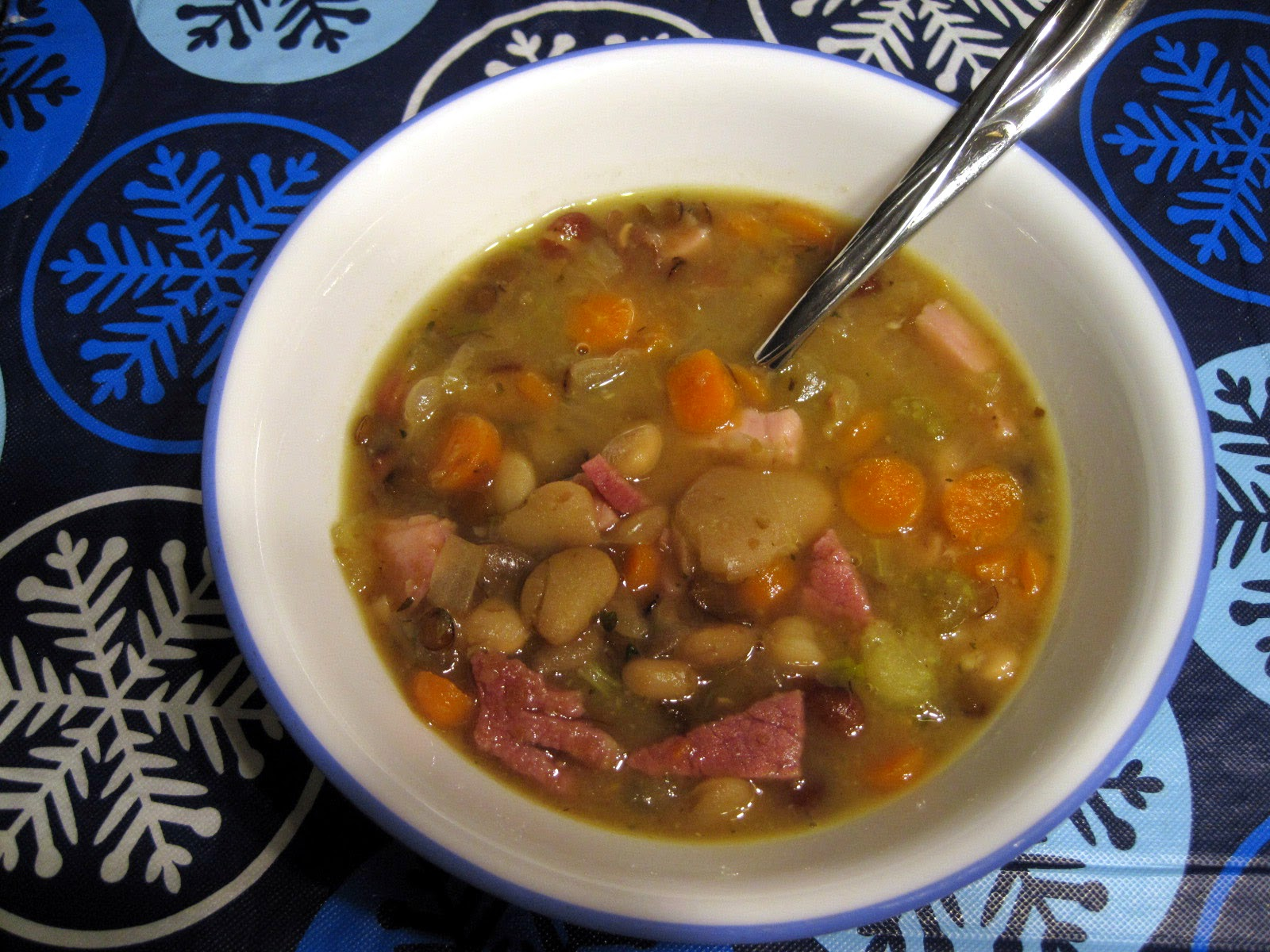 healthy ham bone and bean soup recipe
