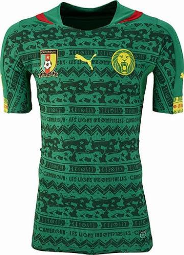 Kostum Timnas Kamerun Piala Dunia 2014