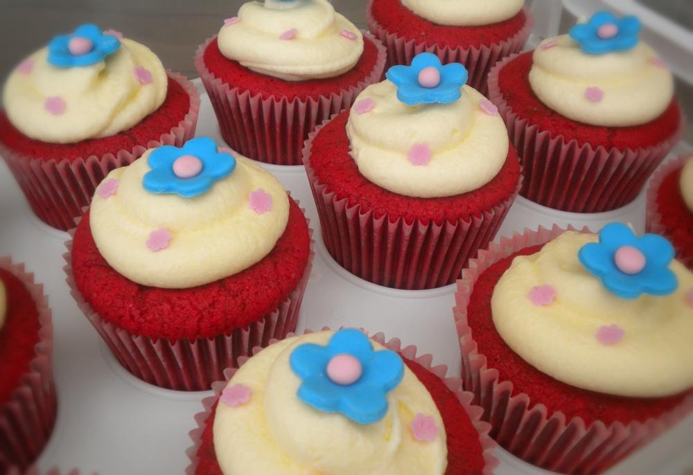 Red Velvet Cake Heart Of Mary