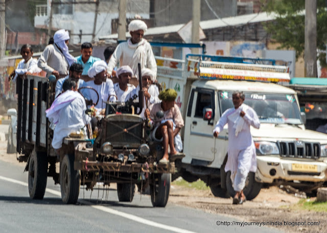Customized vehicle with too many passengers Rajasthan